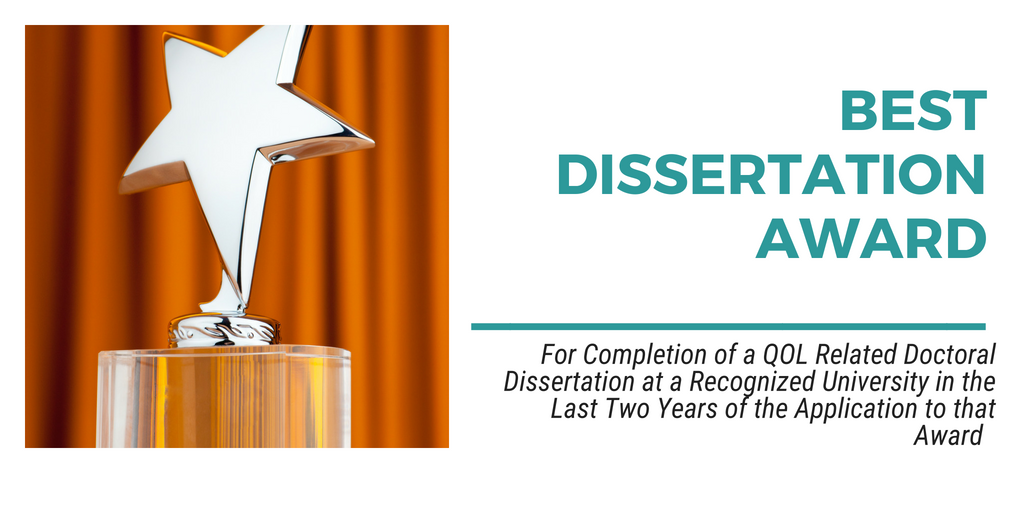 Best dissertation award aom